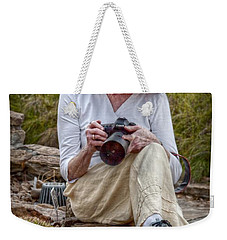 Photographer Weekender Tote Bag by Linda Unger