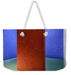 Physical Abstraction Weekender Tote Bag by Lynn Palmer