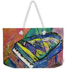Piano Blue Weekender Tote Bag