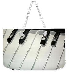 Piano Keys Weekender Tote Bag
