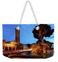 Piazza Della Bocca Della Verita' Weekender Tote Bag
