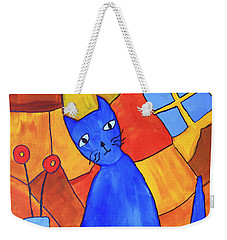 Picasso's Blue Cat Weekender Tote Bag