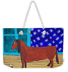 Picasso's Dachshund Weekender Tote Bag