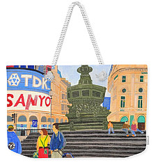 London- Piccadilly Circus Weekender Tote Bag