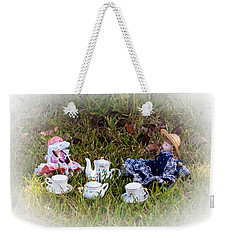 Picnic For Dolls Weekender Tote Bag