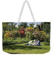 Summer Picnic Weekender Tote Bag by Spikey Mouse Photography