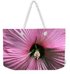 Pie Plate Hibiscus Weekender Tote Bag