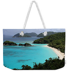 Piece Of Paradise Weekender Tote Bag by Fiona Kennard