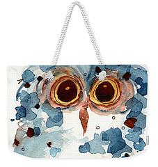 Pier 1 Owl Weekender Tote Bag by Dawn Derman