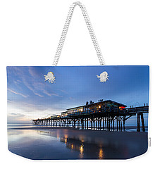 Pier At Twilight Weekender Tote Bag