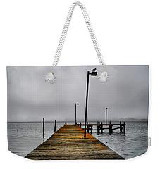 Pier Into The Fog Weekender Tote Bag