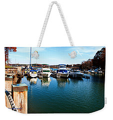Pier Pressure - Lake Norman Weekender Tote Bag