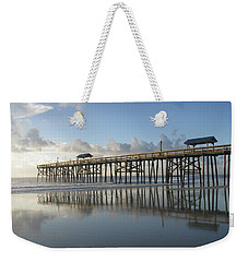 Pier Reflection Weekender Tote Bag