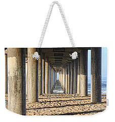 Pier Weekender Tote Bag by Tammy Espino