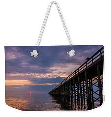 Pier To The Horizon Weekender Tote Bag