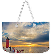 Pierhead October Sky Weekender Tote Bag