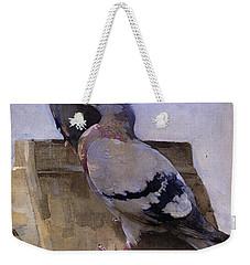 Pigeons On The Roof Weekender Tote Bag