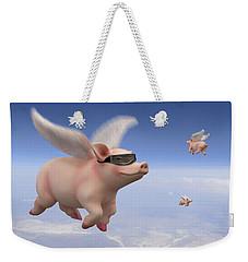Pigs Fly Weekender Tote Bag