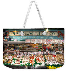 Pike Place Fish Company II Weekender Tote Bag