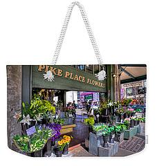 Pike Place Flowers Weekender Tote Bag