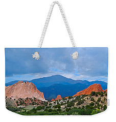 Pikes Peak Weekender Tote Bag by Dan Miller