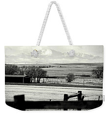 Pikes Peak From Ramah Weekender Tote Bag