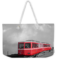 Pikes Peak Train Weekender Tote Bag