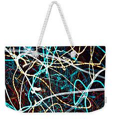 Weekender Tote Bag featuring the photograph Pilgimage Of Lights 2 by Joel Loftus