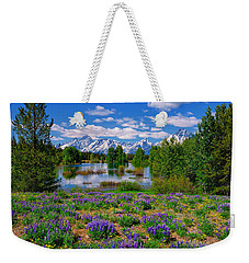 Pilgrim Creek Wildflowers Weekender Tote Bag