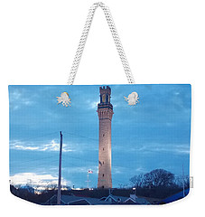 Pilgrim Tower Weekender Tote Bag