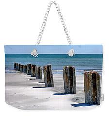 Pilings Weekender Tote Bag