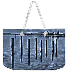 pillars on the Bay Weekender Tote Bag