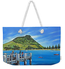 Pilot Bay Mt Maunganui 201214 Weekender Tote Bag