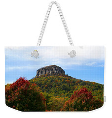 Pilot Mountain From 52 Weekender Tote Bag by Kathryn Meyer