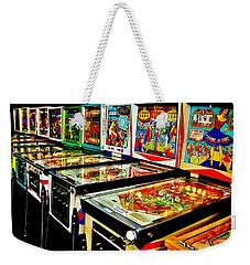 Pinball Alley Weekender Tote Bag