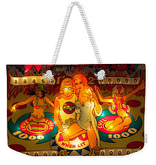 Pinball Wizard Tommy Vintage Weekender Tote Bag