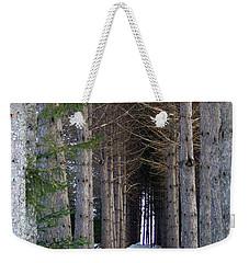 Pine Cathedral Weekender Tote Bag