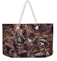 Pine Cones And Patterns Weekender Tote Bag