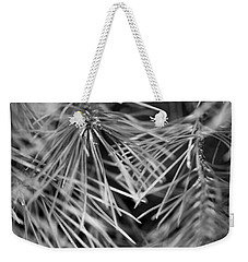 Pine Needle Abstract Weekender Tote Bag by Susan Stone