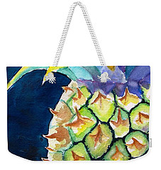 Pineapple Weekender Tote Bag by Carlin Blahnik