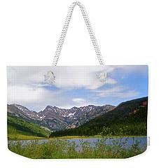 Piney Lake In Upper Vail Weekender Tote Bag