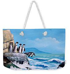 Pinguinos De Humboldt Weekender Tote Bag
