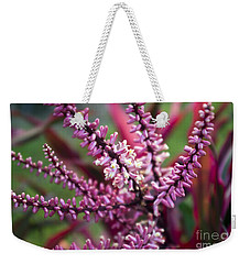 Pink And Cream Cluster Bloom Weekender Tote Bag