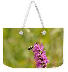 Pink And Gold Weekender Tote Bag