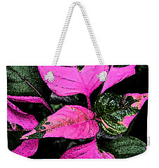 Pink And Green Weekender Tote Bag by Aimee L Maher Photography and Art Visit ALMGallerydotcom