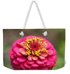 Weekender Tote Bag featuring the photograph Pink Floral  by Eunice Miller