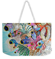 Pink Beach Sea Squirts Weekender Tote Bag