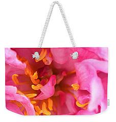 Pink Beauty Weekender Tote Bag by Tine Nordbred