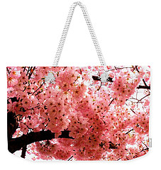 Pink Canopy Weekender Tote Bag by Patti Whitten