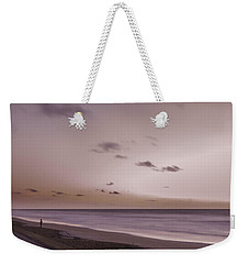 Weekender Tote Bag featuring the photograph Pink Dawn by Judy Hall-Folde